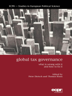 Global Tax Governance: What is Wrong with It and How to Fix It