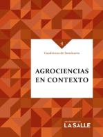 Agrociencias en contexto: Cuadernos de Seminario 4