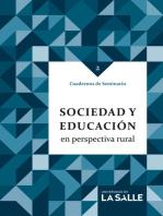 Sociedad y educación en perspectiva rural