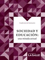 Sociedad y educación