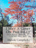 I Met A Goat On The Road, And Other Stories Of Life On This Hill