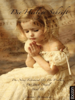 Die Heilige Schrift - Band III