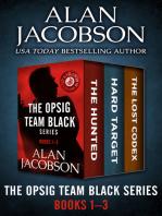 The OPSIG Team Black Series Books 1–3
