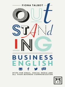 Outstanding business English: Tips for email, social media and all your business comminications