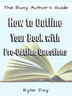 How to Outline Your Book with Pre-Outline Questions