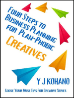 Four Steps to Business Planning for Plan-Phobic Creatives