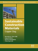 Sustainable Construction Materials: Copper Slag