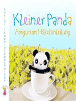 Kleiner Panda Amigurumi Häkelanleitung