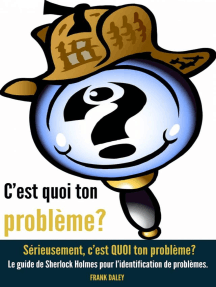 C'est quoi ton problème? Sérieusement, c'est QUOI ton problème?