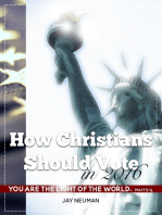 How Christians Should Vote In 2016