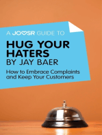 A Joosr Guide to... Hug Your Haters by Jay Baer