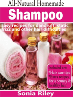 All-Natural Homemade Shampoo