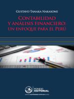 Contabilidad y análisis financiero: Un enfoque para el Perú