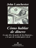 Cómo hablar de dinero