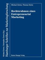 Rechtsrahmen eines Entrepreneurial Marketing
