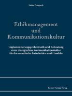Ethikmanagement und Kommunikationskultur