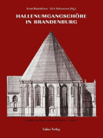 Studien zur Backsteinarchitektur / Hallenumgangschöre in Brandenburg
