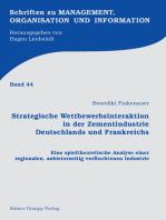 Strategische Wettbewerbsinteraktion in der Zementindustrie Deutschlands und Frankreichs