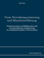 Neue Verwaltungssteuerung und Mitarbeiterführung