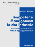 Kompetenz-Management in der Industrie
