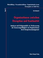 Organisationen zwischen Disruption und Kontinuität