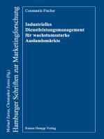 Industrielles Dienstleistungsmanagement für wachstumsstarke Auslandsmärkte