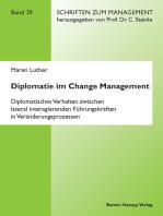 Diplomatie im Change Management
