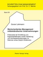 Wertorientiertes Management mittelständischer Unternehmungen