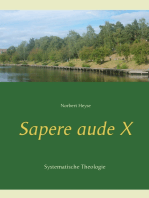 Sapere aude X