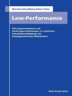 Low Performance