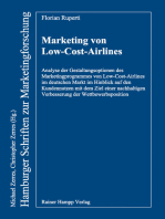 Marketing von Low-Cost-Airlines