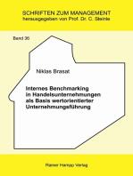Internes Benchmarking in Handelsunternehmungen als Basis wertorientierter Unternehmungsführung