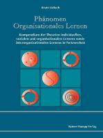 Phänomen Organisationales Lernen