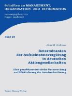 Determinanten der Aufsichtsratsvergütung in deutschen Aktiengesellschaften