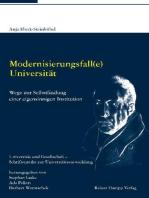 Modernisierungsfall(e) Universität