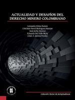 Actualidad y desafíos del derecho minero colombiano