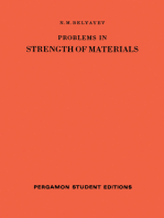 Problems in Strength of Materials