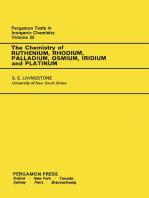 The Chemistry of Ruthenium, Rhodium, Palladium, Osmium, Iridium and Platinum