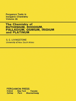 The Chemistry of Ruthenium, Rhodium, Palladium, Osmium, Iridium and Platinum