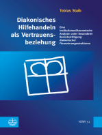 Diakonisches Hilfehandeln als Vertrauensbeziehung