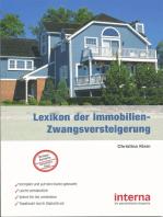 Lexikon der Immobilien-Zwangsversteigerung