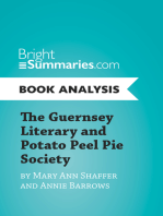 The Guernsey Literary and Potato Peel Pie Society by Mary Ann Shaffer and Annie Barrows (Book Analysis)