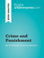 Crime and Punishment by Fyodor Dostoyevsky (Book Analysis)