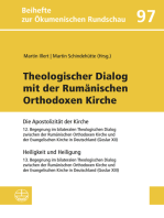 Theologischer Dialog mit der Rumänischen Orthodoxen Kirche