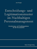 Entscheidungs- und Legitimationsmuster im Nachhaltigen Personalmanagement