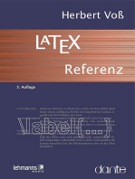 LaTeX-Referenz