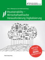 #sustainability – Wirtschaftsethische Herausforderung Digitalisierung