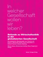 Befunde zu Wirtschaftsethik in der globalisierten Gesellschaft
