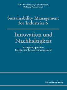Innovation und Nachhaltigkeit: Strategisch-operatives Energie- und Ressourcenmanagement