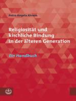 Religiosität und kirchliche Bindung in der älteren Generation